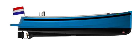 Classic 720 eagle boats | Elektrisch aangedreven aluminium sloep