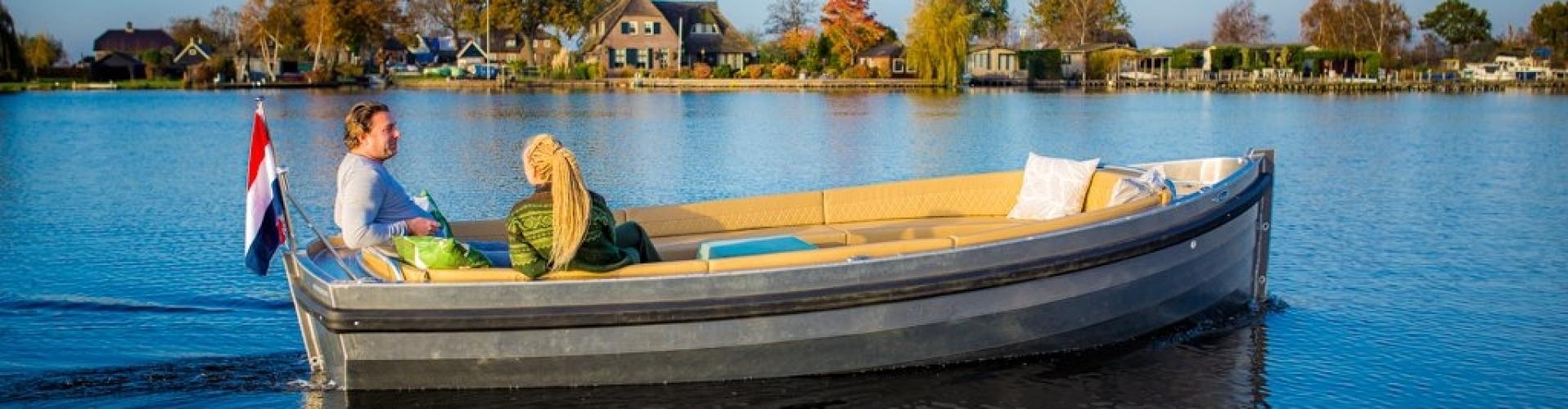 Eagle boats classic 570 aluminium elektrische sloep