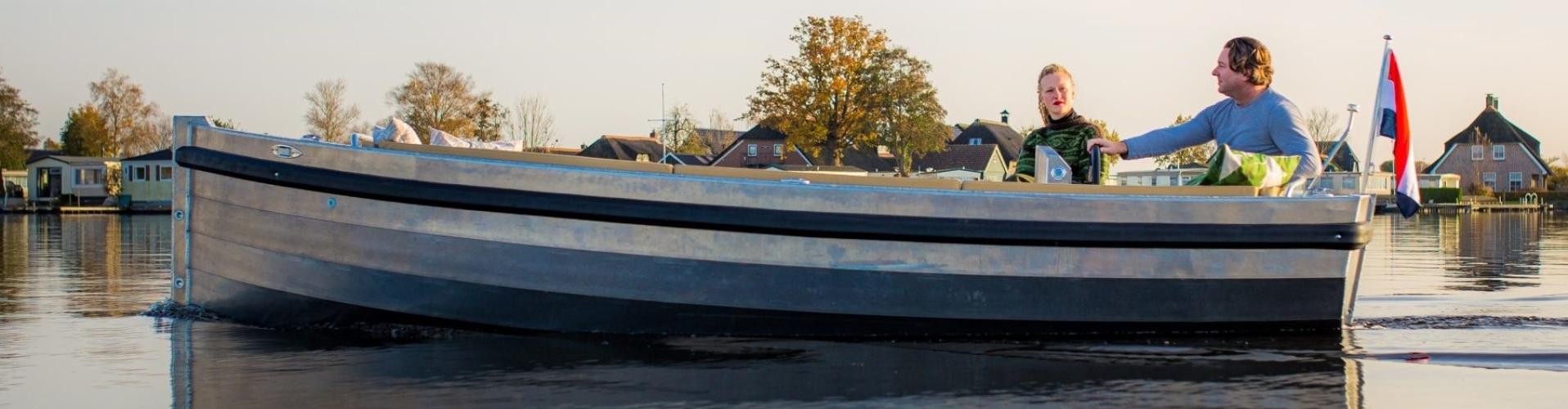 Eagle boats classic lijn aluminium sloepen