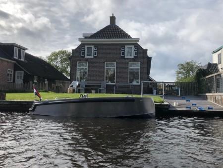 Eagle boats aluminium tender elektrisch aangedreven