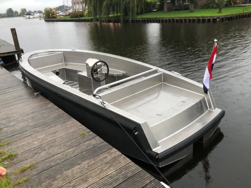 elektrisch aangedreven aluminium tender eagle boats