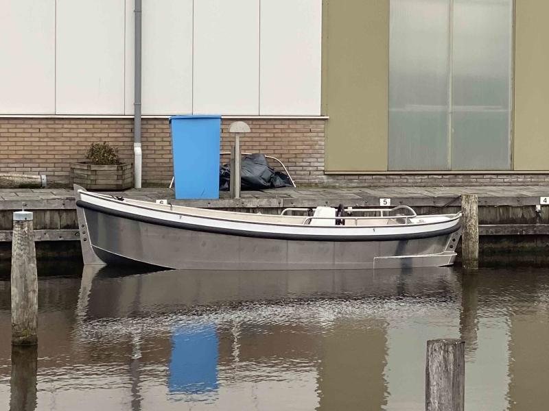 Alumax Next elektrisch aangedreven sloep te koop