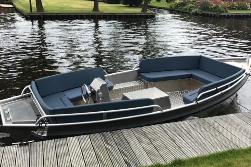 Pettersloep 540 | Aluminium sloep