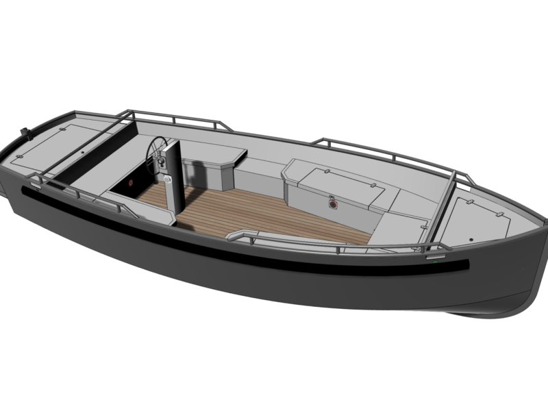 Robust 550 | Eagle Boats | Elektrisch Varen Centrum