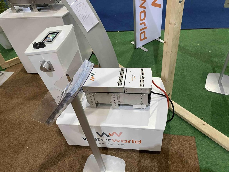Water World elektromotor Boot Holland 2020