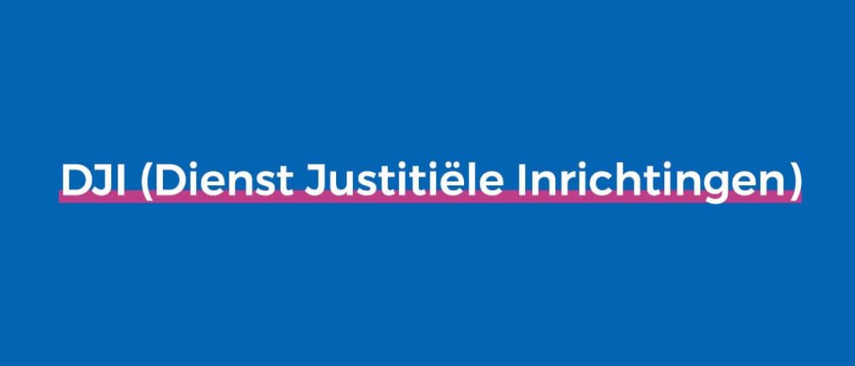 Wat doet de DJI (Dienst Justitiële Inrichtingen)?