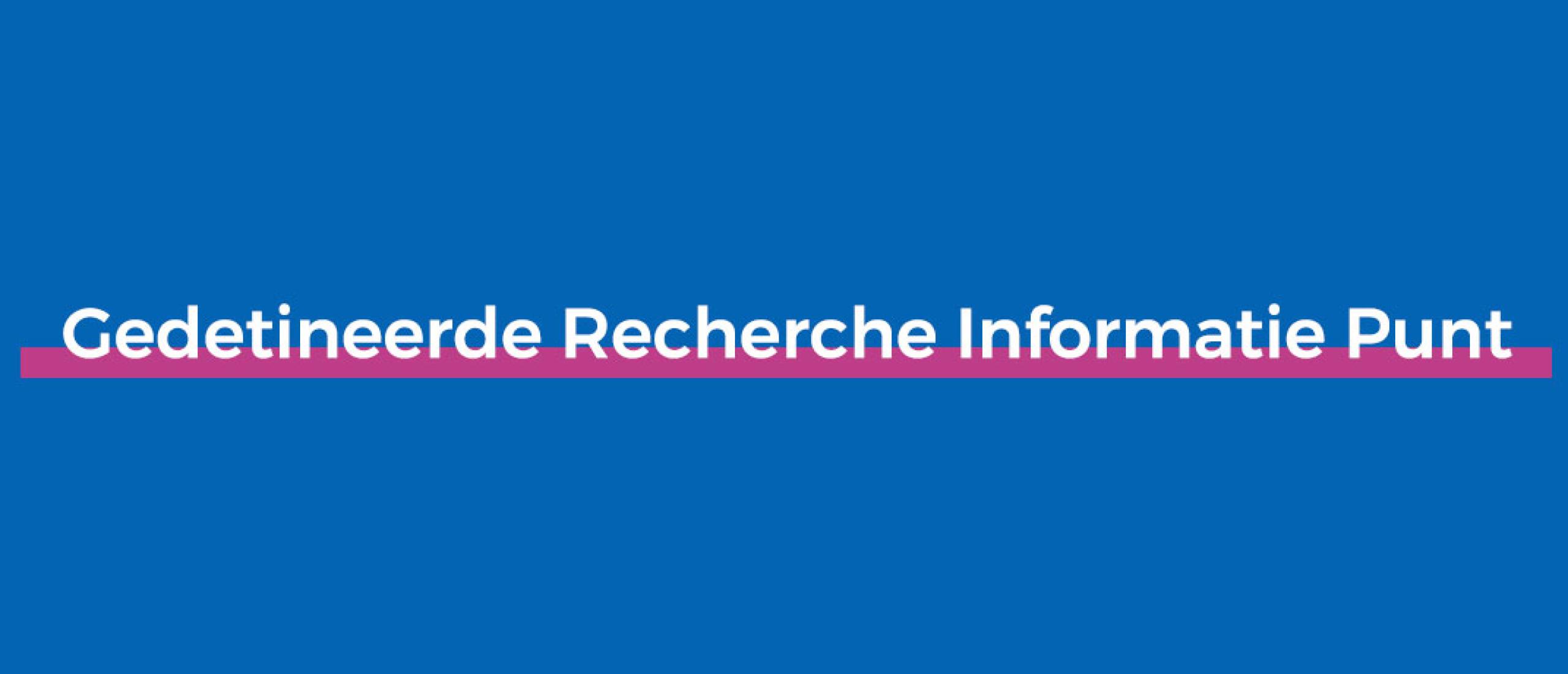 Gedetineerde Recherche Informatie Punt