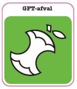 GFT sticker afval scheiden