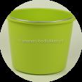 Lime groene emmer eco
