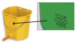 Speenemmer met logo