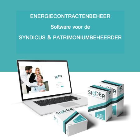 Energie management software voor syndicus en energiecontract beheerder