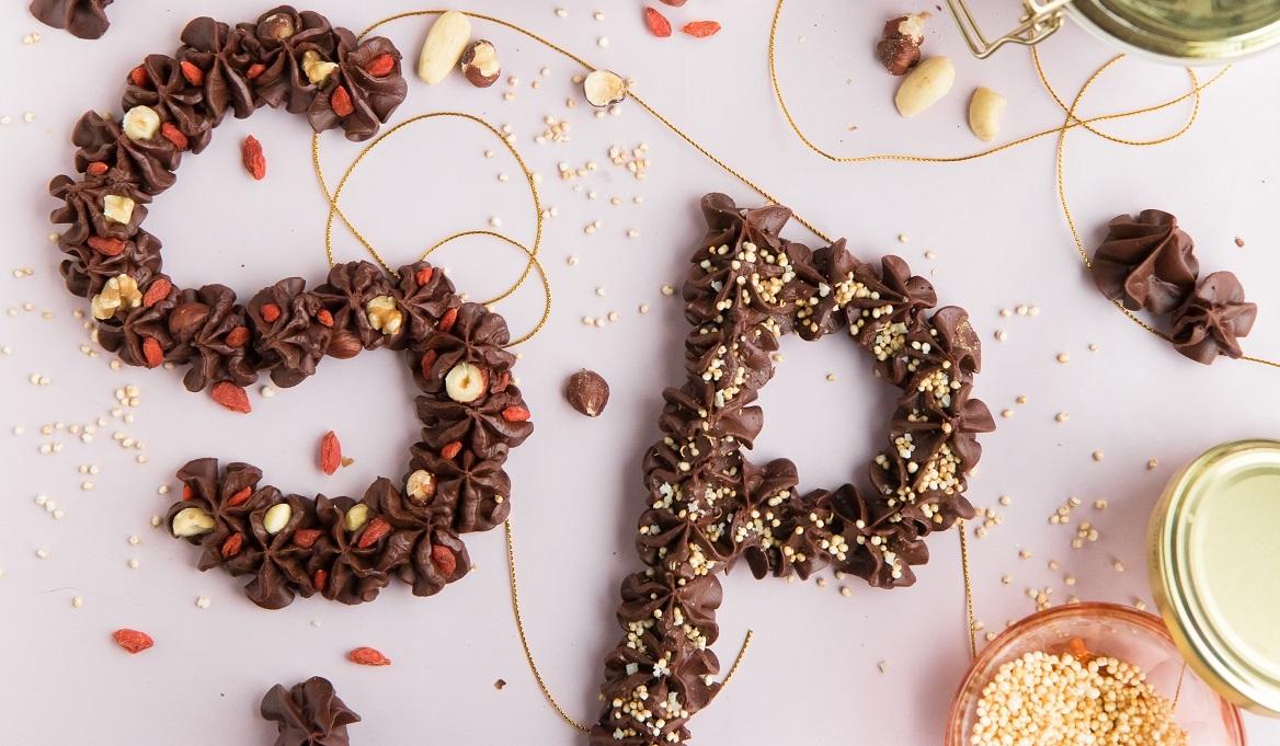 Recept: een gezonde chocoladeletter om zelf te maken