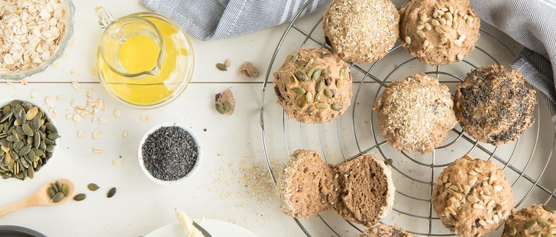 Recept: glutenvrije, hartige broodmuffins voor in je gezonde lunchtrommel
