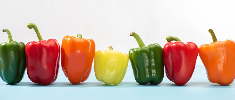 Vijf goede redenen om alle paprika's eens in het zonnetje te zetten!