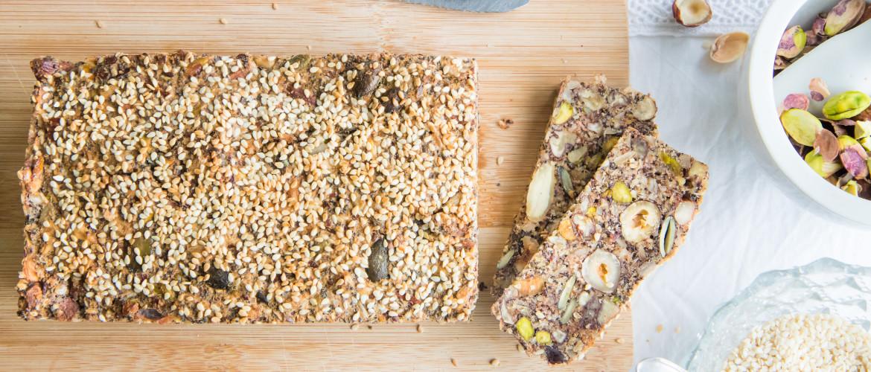 Recept: granenvrij noten- en zadenbroodje