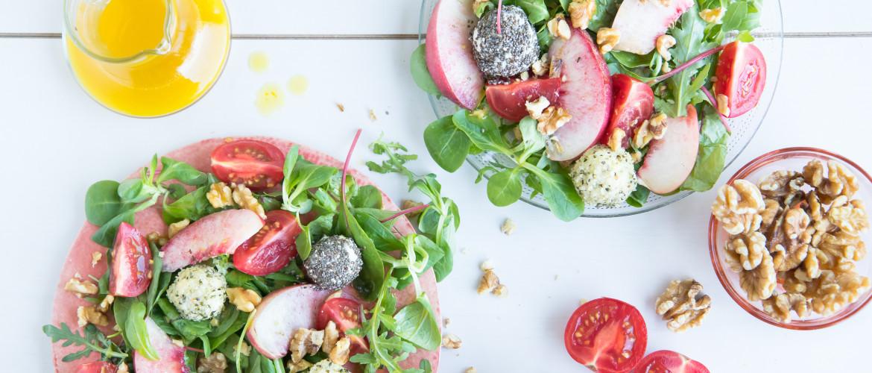 Recept: zomerse salade met volop gezonde omega 3 vetzuren (zonder vis!)