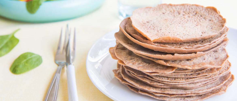 Recept: hartige boekweit-teff pannenkoekjes voor een krachtig vrouwenlijf