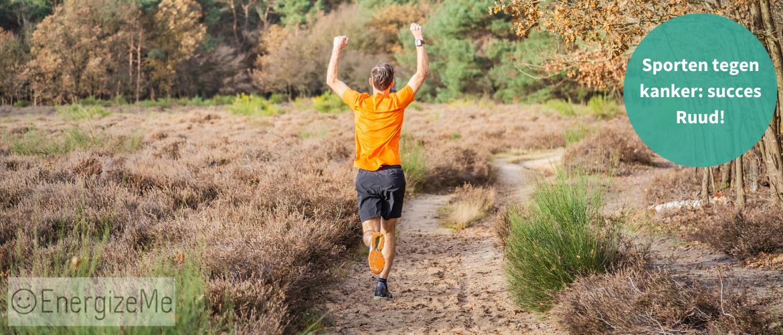 Sporten tegen kanker: succes Ruud!