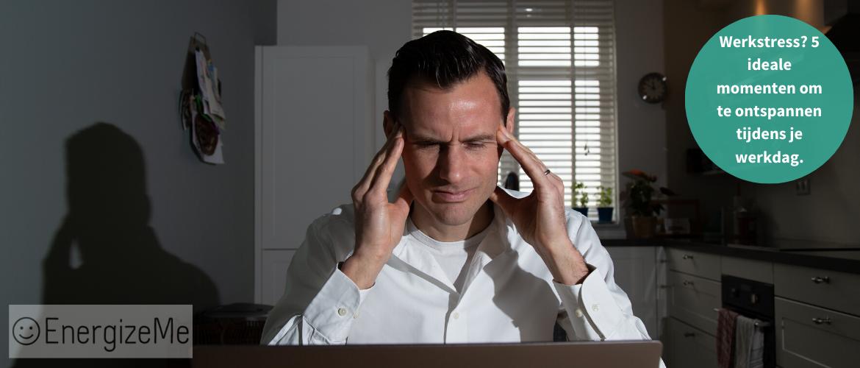 Werkstress? 5 ideale momenten om te ontspannen tijdens je werkdag.