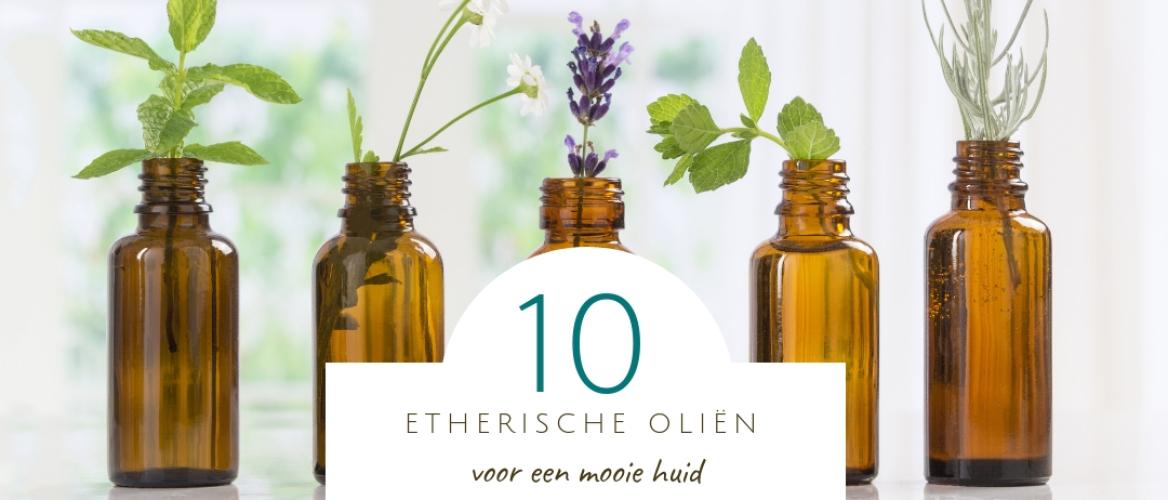10 etherische oliën voor een mooie huid