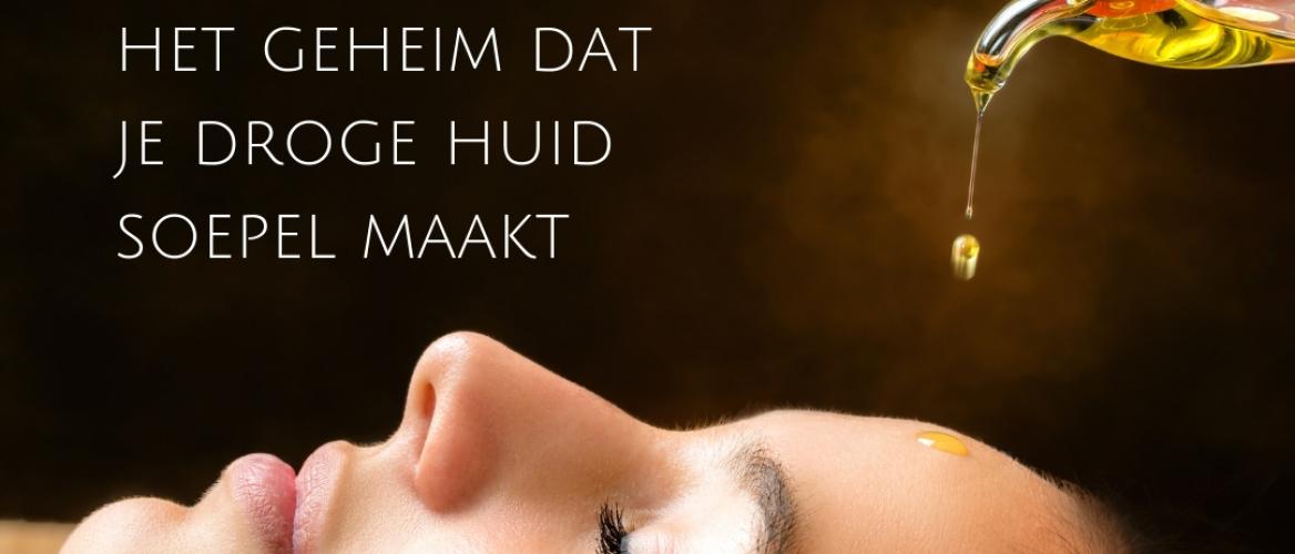 Gezichtsolie: het geheim dat je droge huid soepel maakt