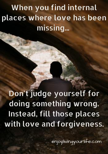 Spiritual forgiveness