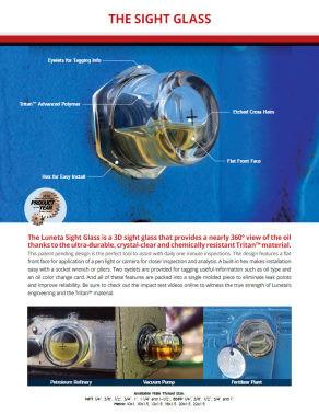 3d bullseye sightglass brochure