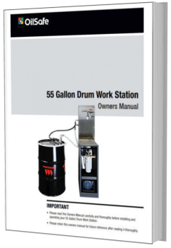 55 gallon drum work station OilSafe