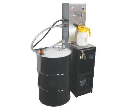 OilSafe 55 gallon drum work station