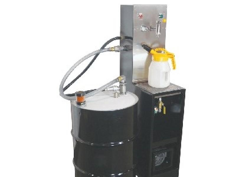 OilSafe 55 gallon drum work station