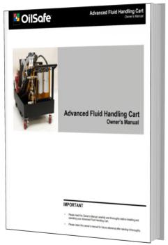 Advanced fluid handling cart OilSafe