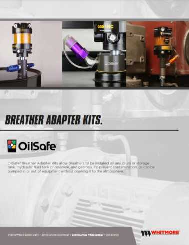 Breather Adapter Kits brochure