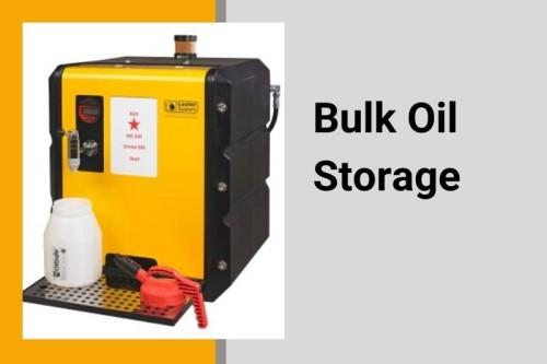 Bulk oil storage
