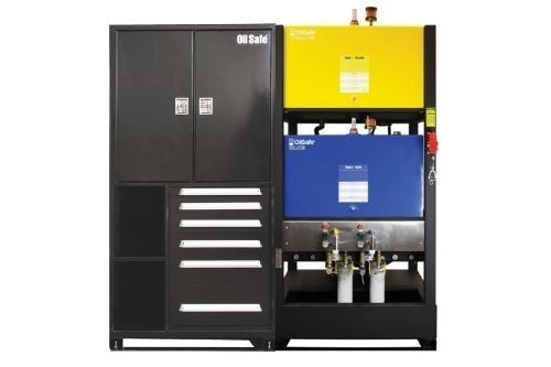 Bulk storage cabinets