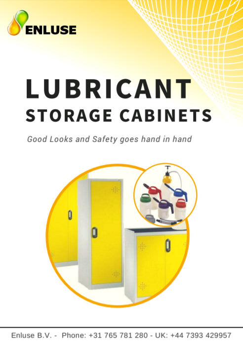 Lubricant storage cabinets - Enluse