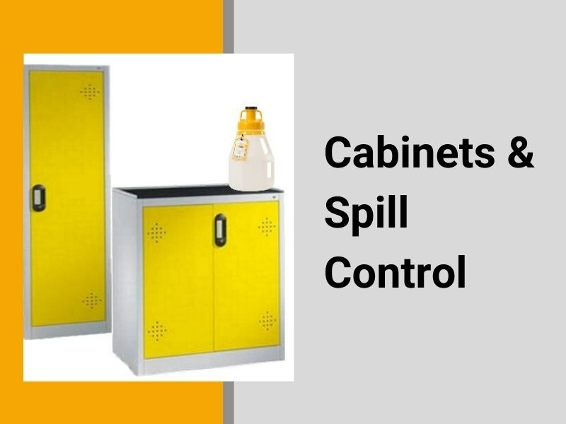Cabinets and spill control