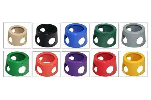 Collars for premium pumps