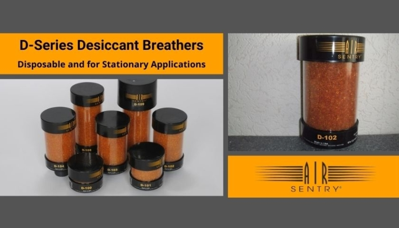 desiccant breathers d-series