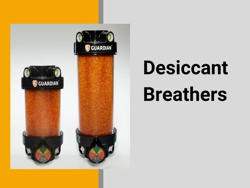 Air Sentry desiccant breathers-extending fluid life saves money and downtime