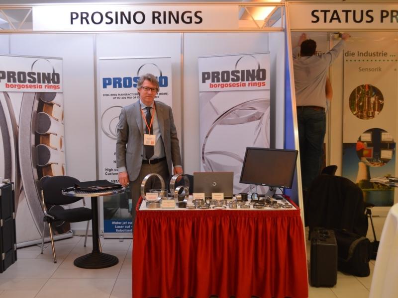 Prosino rings booth