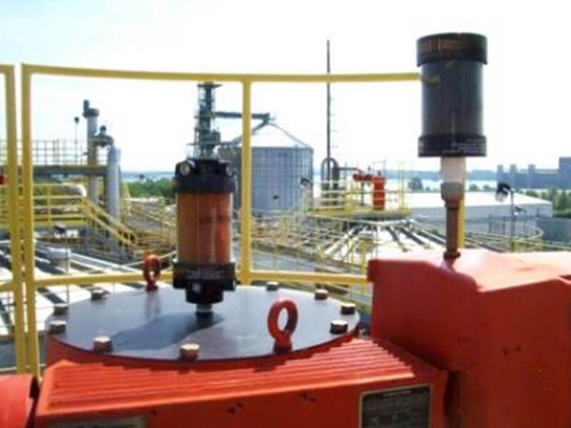 Blender gearbox at an ethanol plant