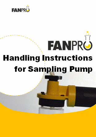 Handling instructions for sampling pump