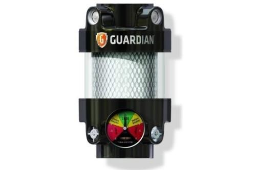 High capacity air filter