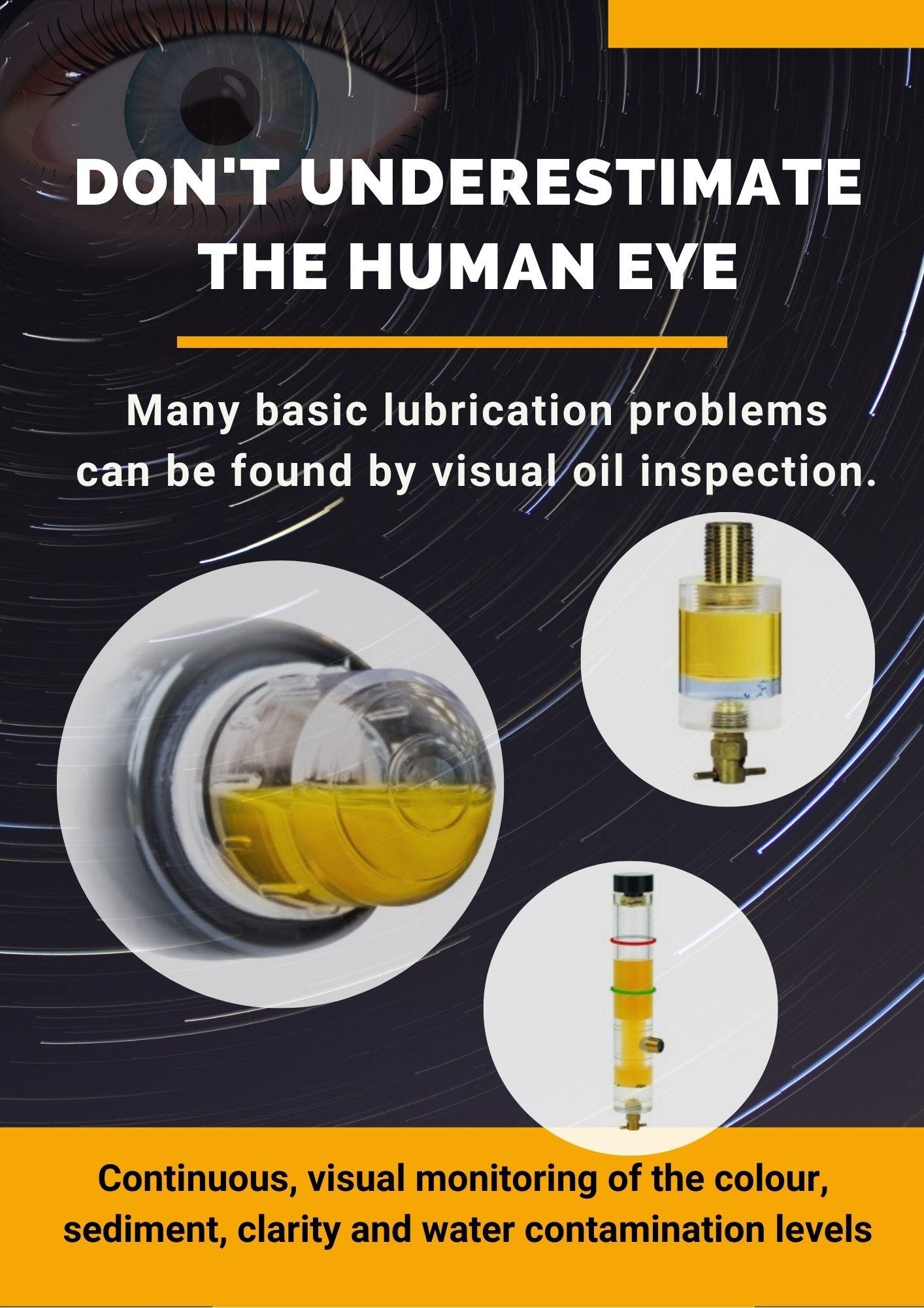 Don't underestimate the human eye