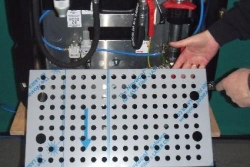 Inner spill tray