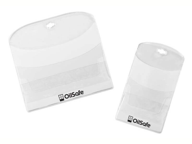 label pockets protect and secure labels