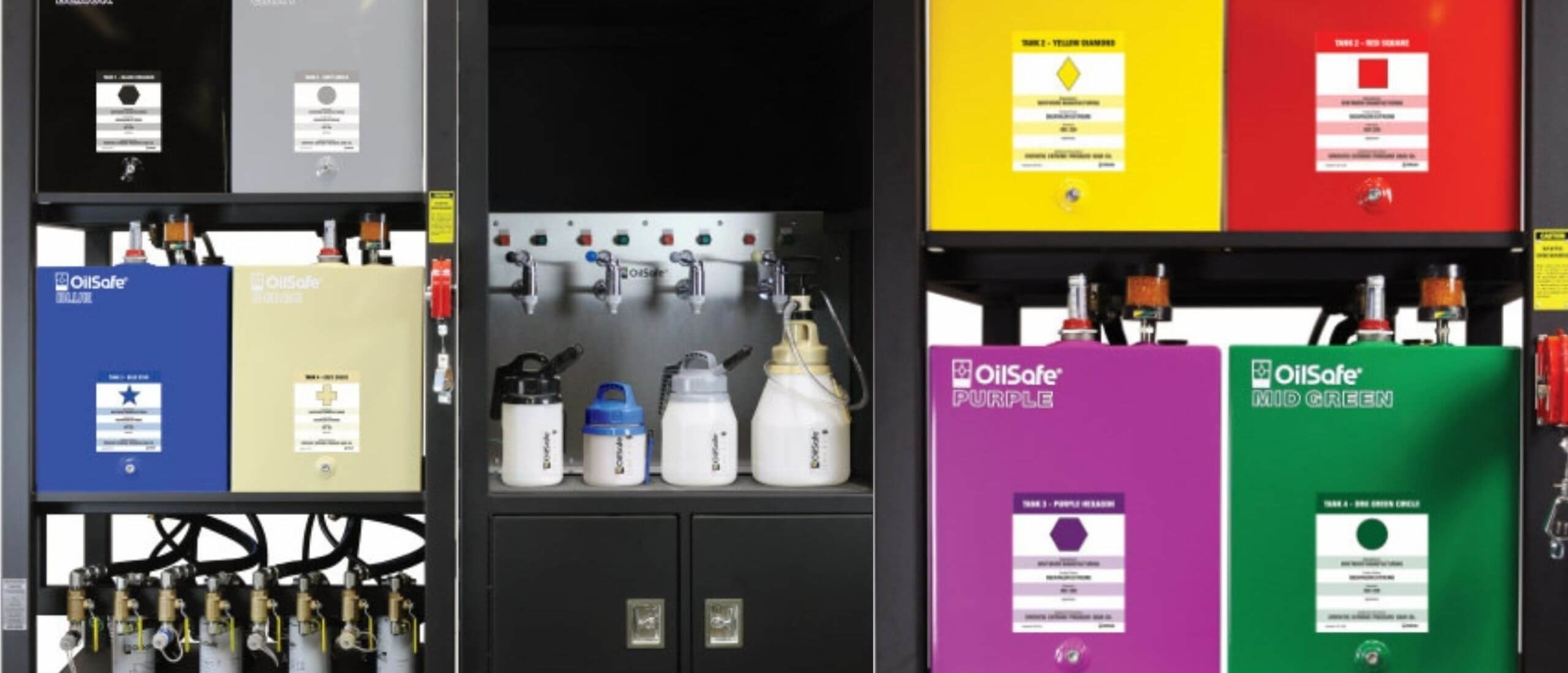 Lube Rooms - Clean Storing