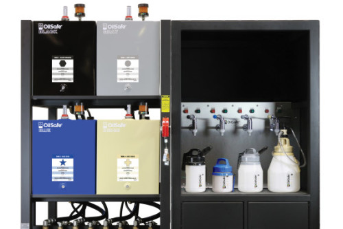 Lubrication Work Center OilSafe