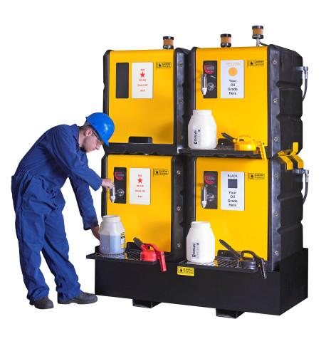 Lustor - Lubrication Storage System - 500 liter - with worker