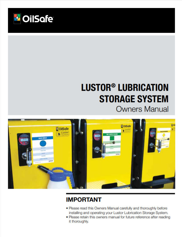 Lustor - the owners manual